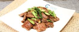 精選食譜:露筍炒牛小排  中菜 + 西式美食